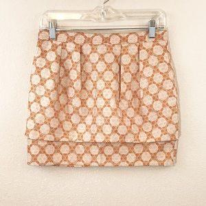 ASOS Sz 6 Geometric Print Mini Skirt